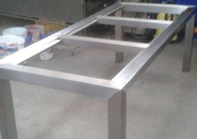 Tischgestell-Edelstahl